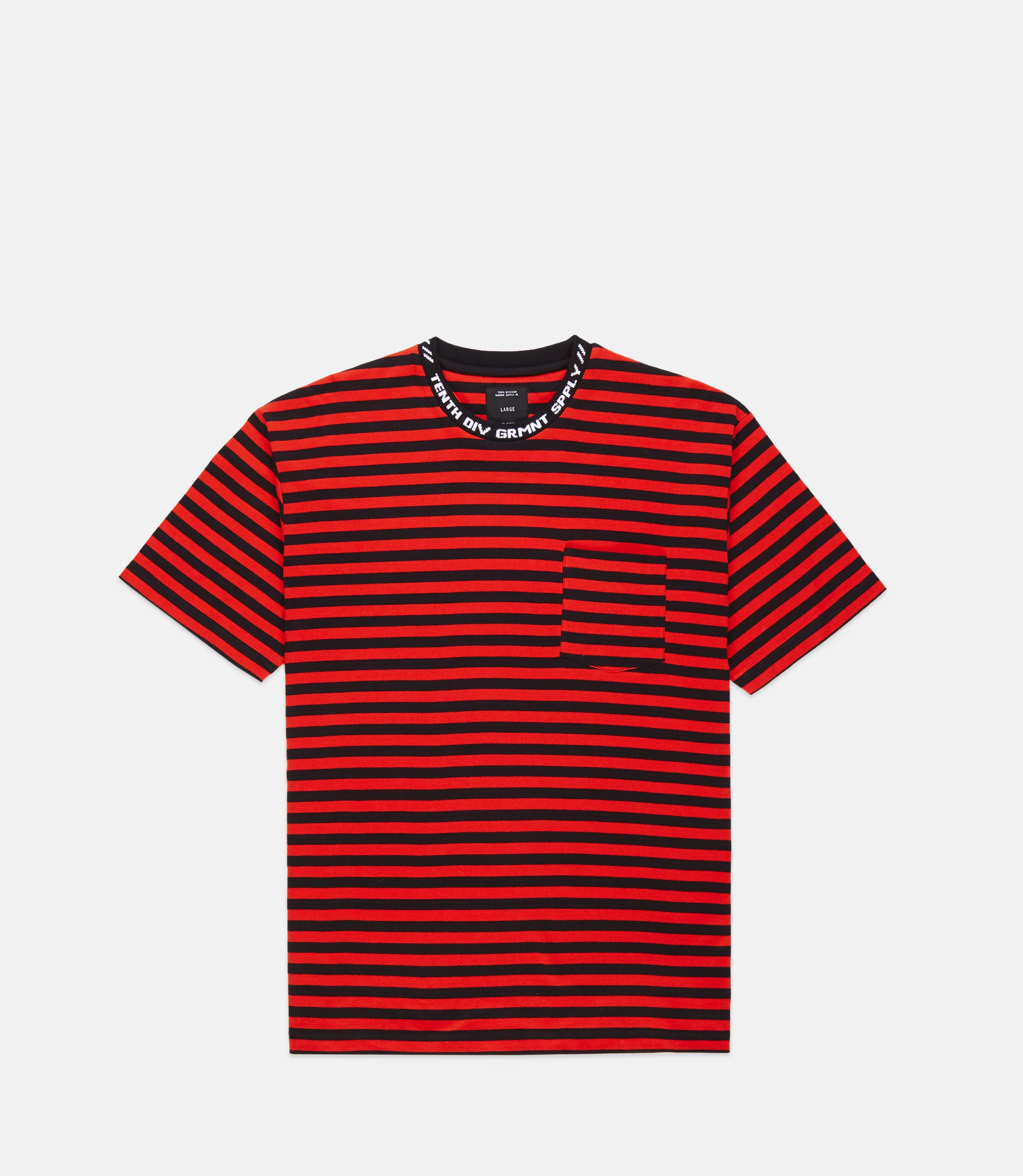 182TD4208_FOREIGNER-YD-STRIPED-TEE_RED_FRONT