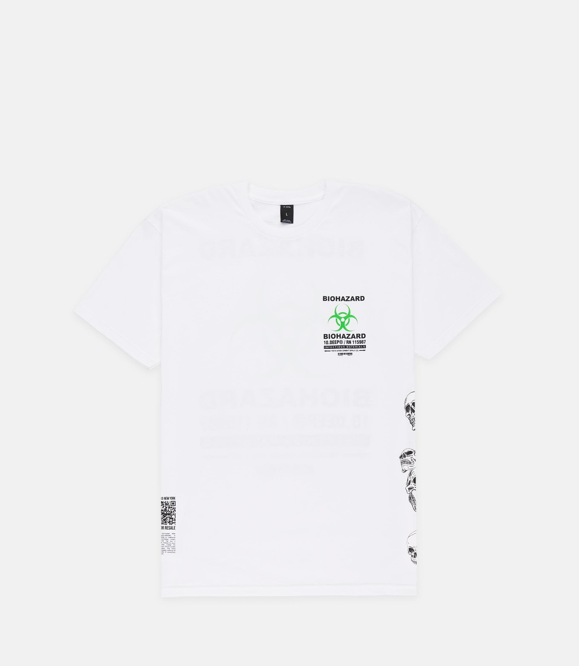 192TD4324-BIOHAZARD-SS-TEE-WHITE_FRONT