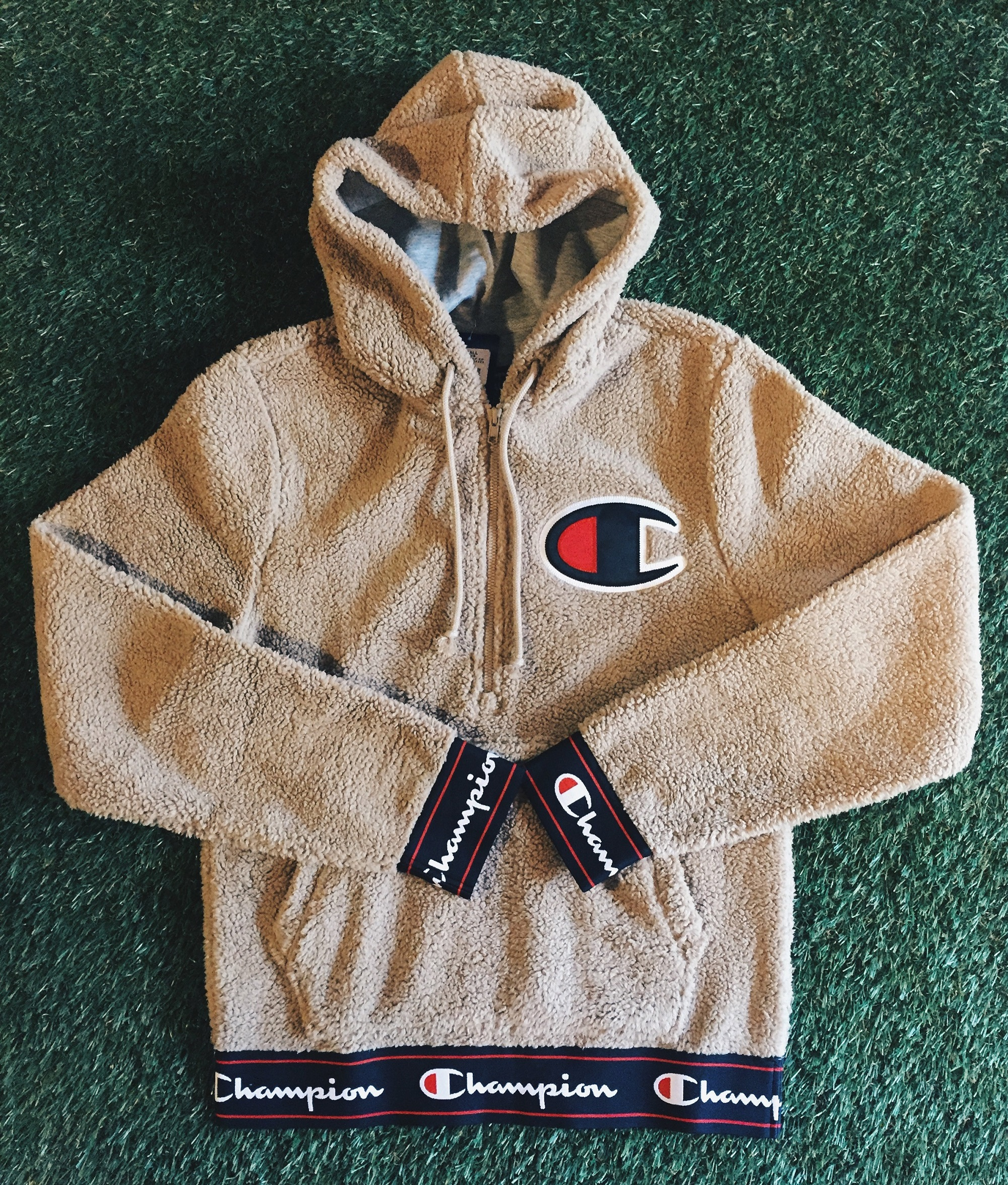 champion fall sherpa fleece pullover now available in-store ...