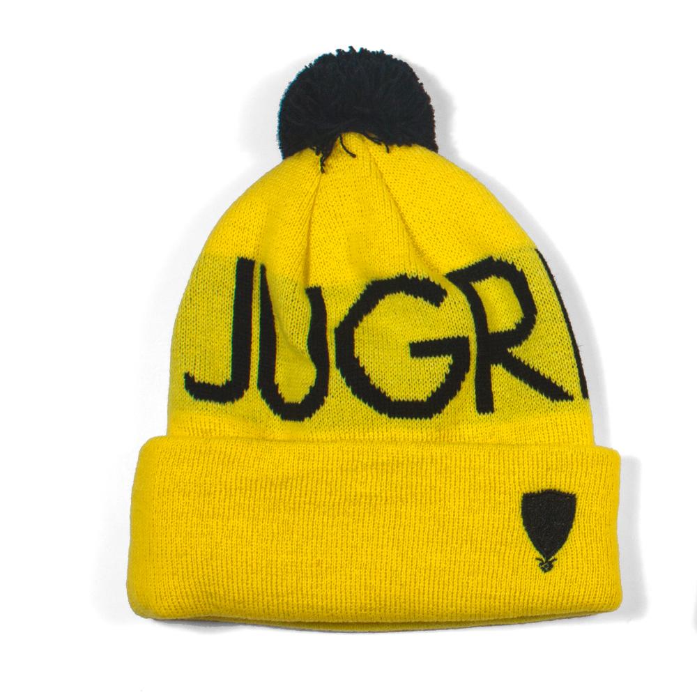 Jugrnaut_HeadsHigh_yellow_Beanie_f