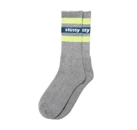 Stusy grey sock