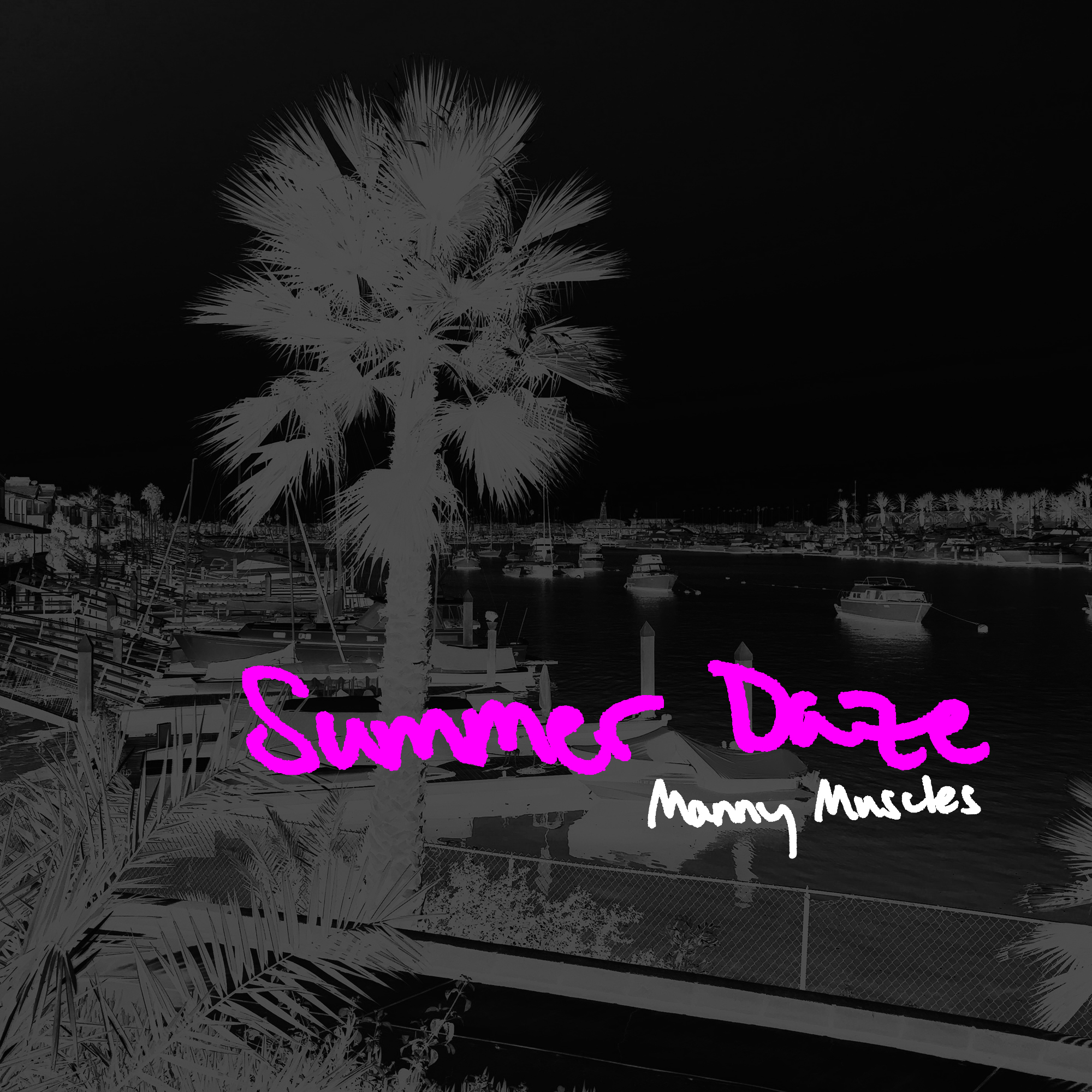 Summer Daze Cover Black Pink 72dpi