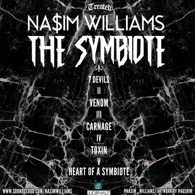 The Symbiote Back Cover 3.0