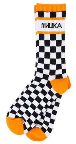 checker socks