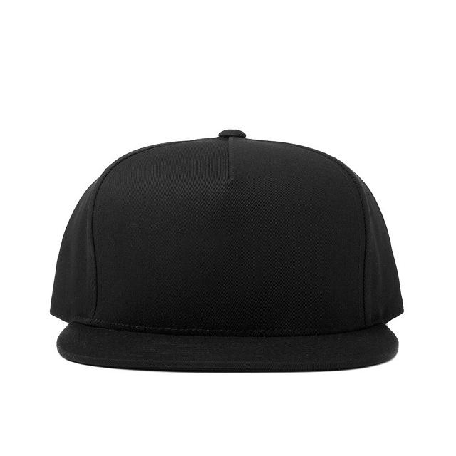 dp14-black_blank-snapback-f