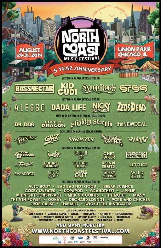 north-coast-2014-lineup