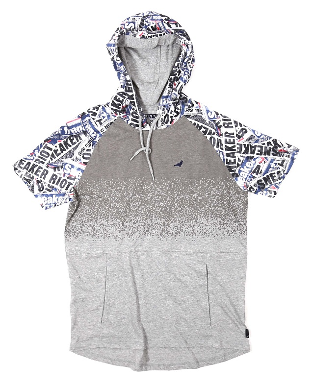 riot hooded tee