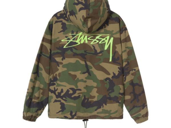 ripstop camo jacket