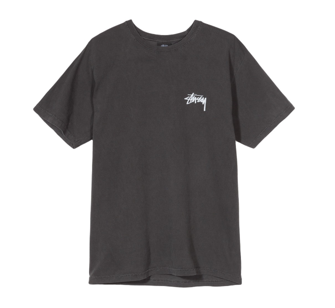 stussy 8 ball dyed tee front